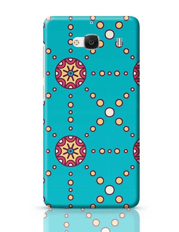 """Polka Dots Ring"" sky color background Redmi 2 / Redmi 2 Prime Covers Cases Online India"