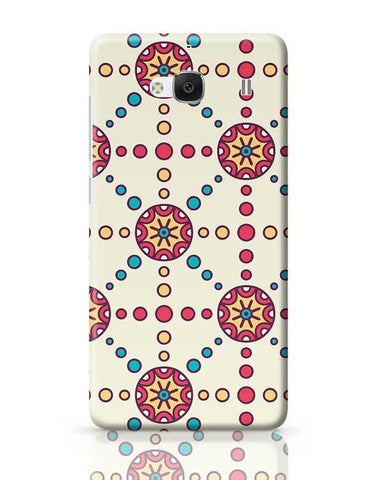 """Polka Dots Ring""White Background Redmi 2 / Redmi 2 Prime Covers Cases Online India"