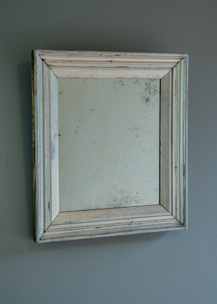 Late 19th Century English Mirror with Original Silver Gilt Surface