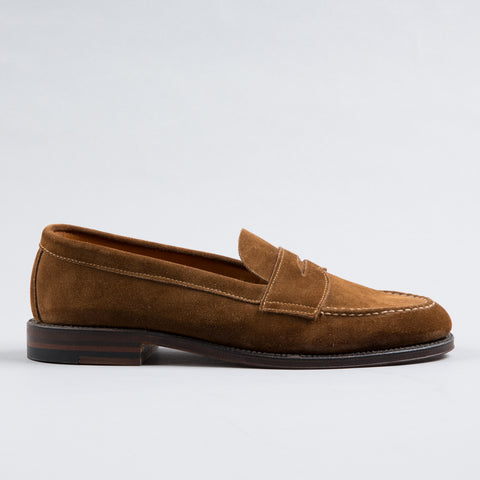 UNLINED PENNY LOAFER SNUFF SUEDE 6243F