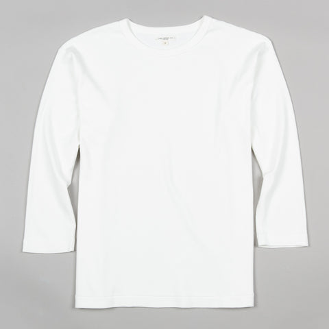 3/4 SLEEVE T-SHIRT WHITE