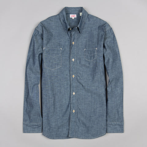 1920S TWO POCKET SUNSET SHIRT CHAMBRAY