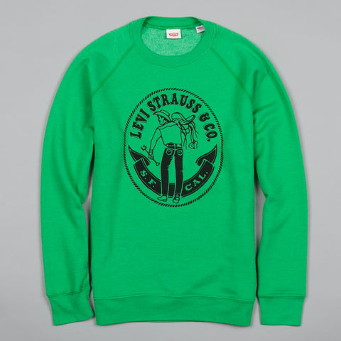 1970S SADDLEMAN SWEATSHIRT GREEN