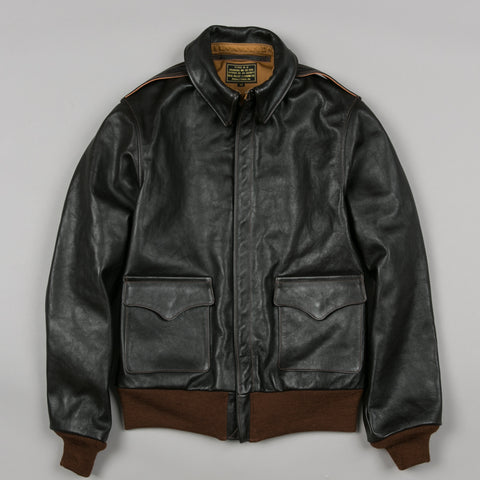 TYPE A-2 FLIGHT JACKET SEAL BROWN