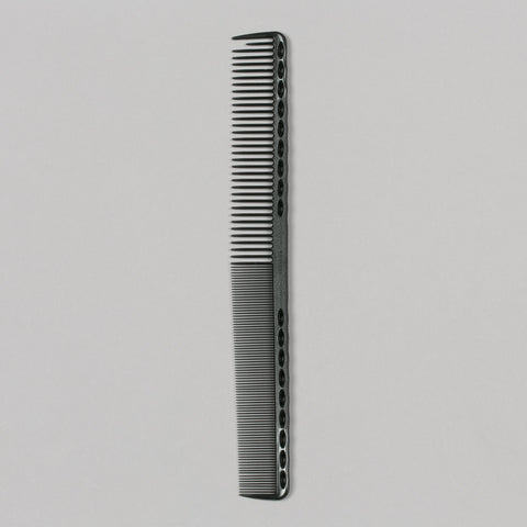 331 LONG FINE TOOTH COMB CARBON