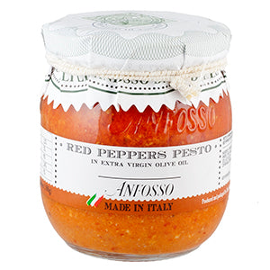 Anfosso Red Peppers Pesto