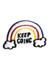 Keep Going chenille patch