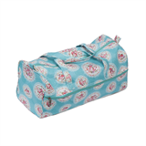 Hobby Gift Blue Cameo Floral Knitting Bag