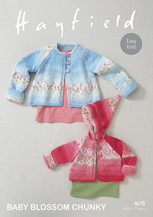 Hayfield Baby Blossom Chunky Pattern 4678