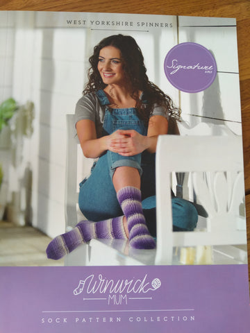 WYS Winwick Mum Sock Pattern Collection Book