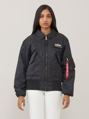 Alpha CWU 45/P Flight Jacket-Replica Blue