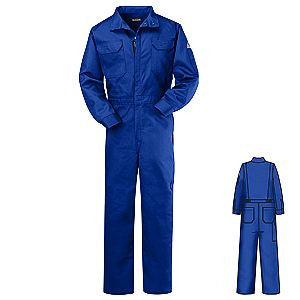 Bulwark Men's 9 oz. Deluxe Coverall HRC2 - CLB6