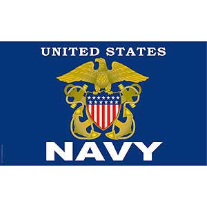 United States Navy Flag- 3' x 5'