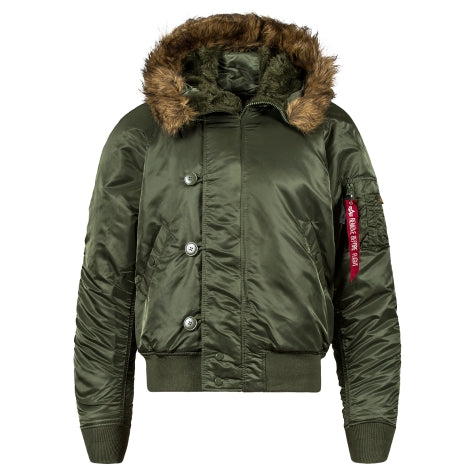 Alpha Industries N2B Shortwaist Parka- Sage Green