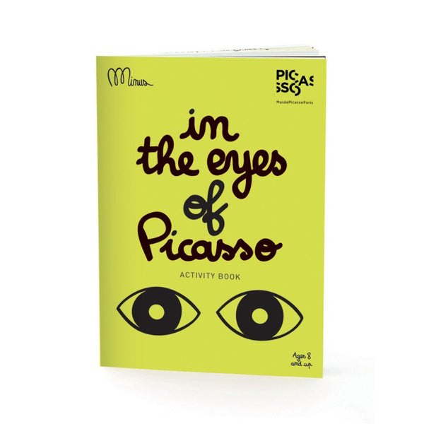 In the eyes of Picasso, Activity book, minus editions