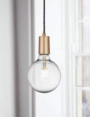 Vintage Sleek Brass Edison Light by Industville