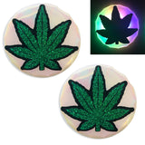 light up weed nipple covers by Sasswear
