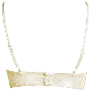 Sarine Metallic Bralet Gold
