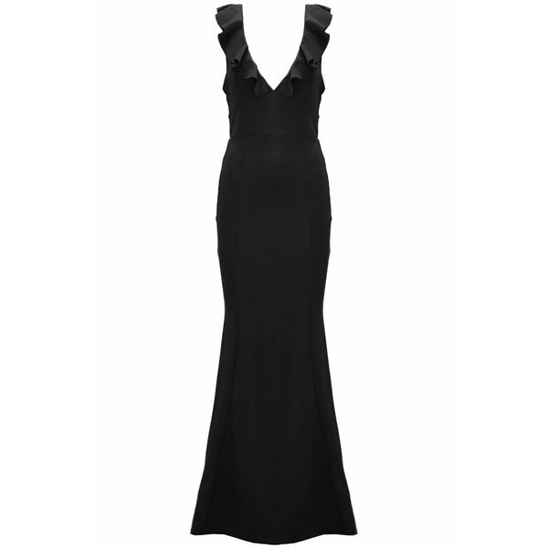 Akera Maxi Dress Black