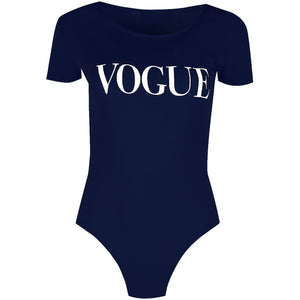 Vogue Bodysuit Blue