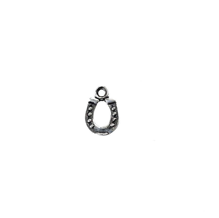Horseshoe Charm- Textured