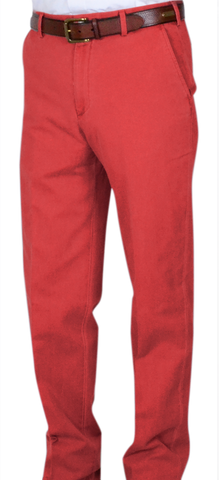 Classic Vintage Twill<br>Relax Fit<br>Red