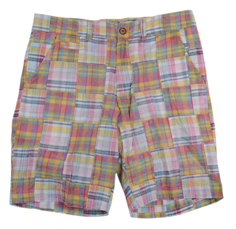 Patch Madras Short<br>Orange