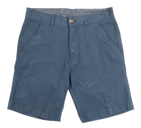 Stretch Baby Canvas Short<br>Navy