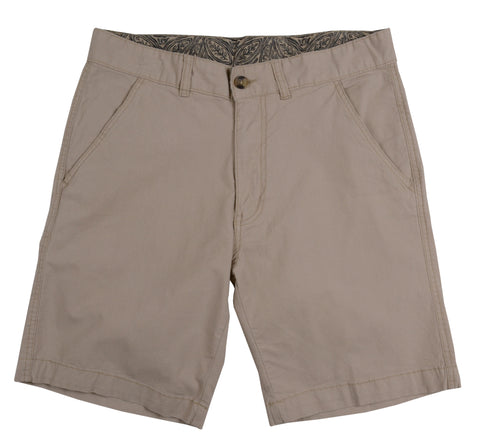 Stretch Baby Canvas Short<br>Khaki