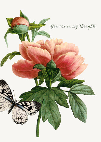 You are in my thoughts • 5x7 Greeting Card