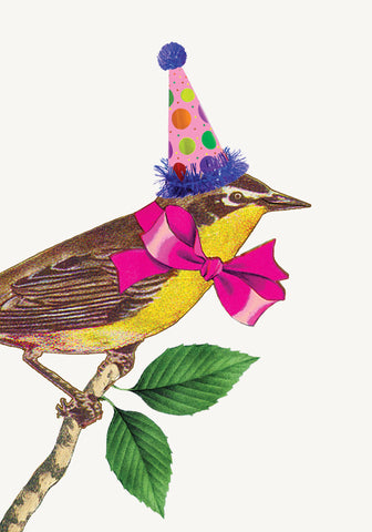 Birthday Bird • Mini Card