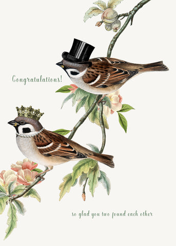 Congratulations, so glad • 5x7 Greeting Card