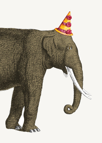 Birthday Elephant • Mini Card