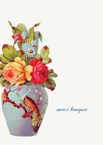 Merci Bouquet • 5x7 Greeting Card