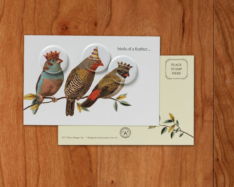Birds of a Feather • Postcards with Magnets
