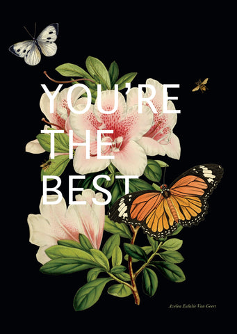 You're The Best • 5x7 Greeting Card