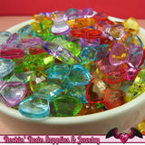 50 pc Small Acrylic BOW Beads 16x9mm - Rockin Resin  - 3