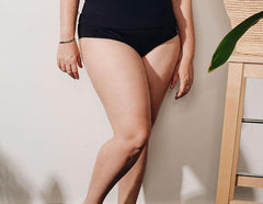 Curve - Black Tankini Bottom