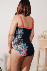 Curve - One Piece Ruched Swimwear for DD CUP - (40% Off-U.P $275) 41005