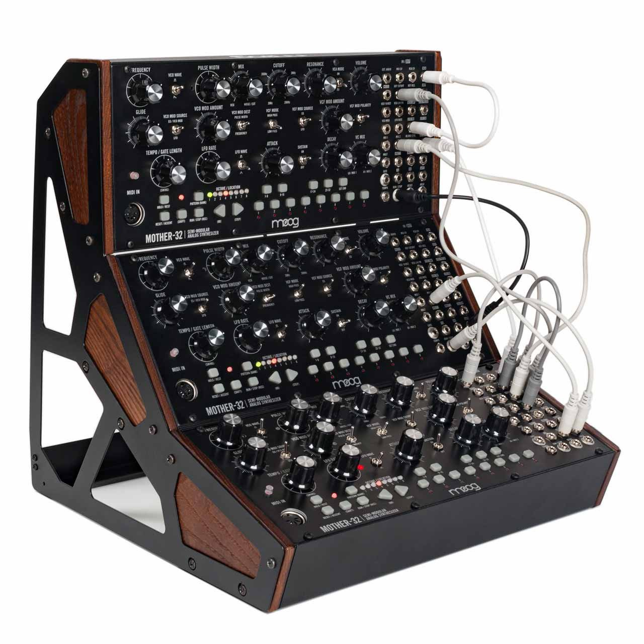 Desktop Synthesizers - Moog Mother 32 Three Tier Rack Kit