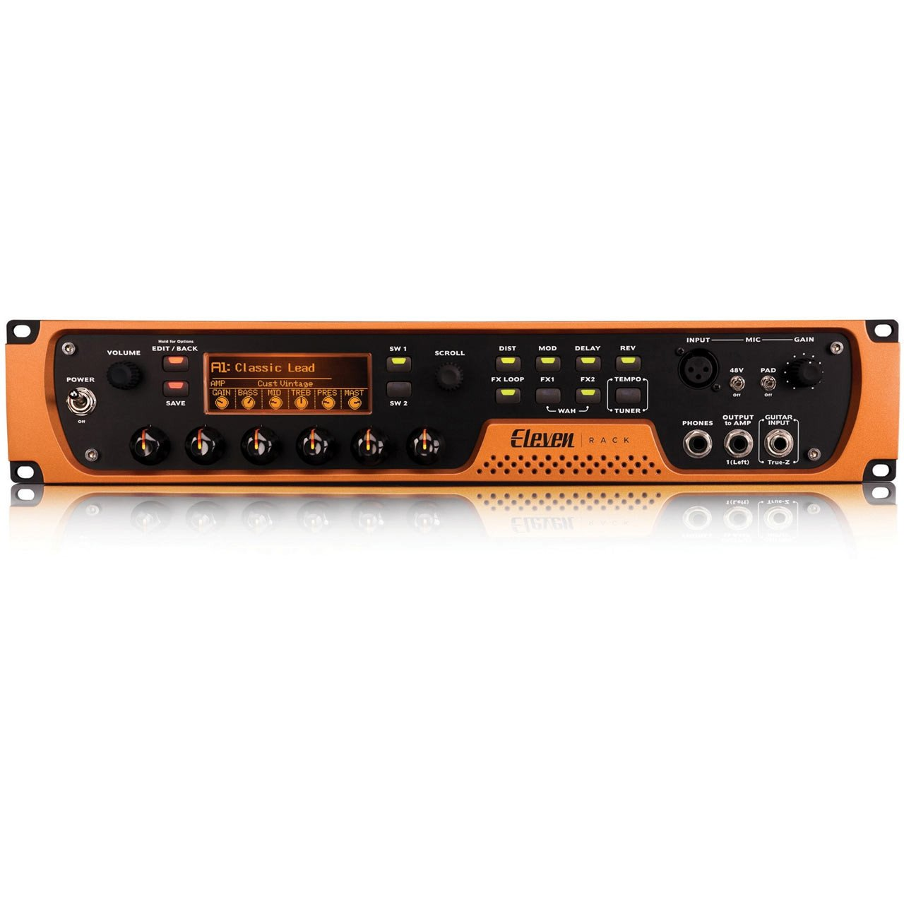 Guitar Audio Interfaces - Avid Pro Tools Eleven Rack With Pro Tools Subscription