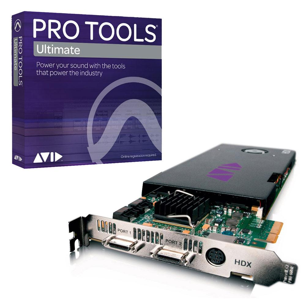 HD Core Systems - AVID HDX Core With Pro Tools Ultimate Software