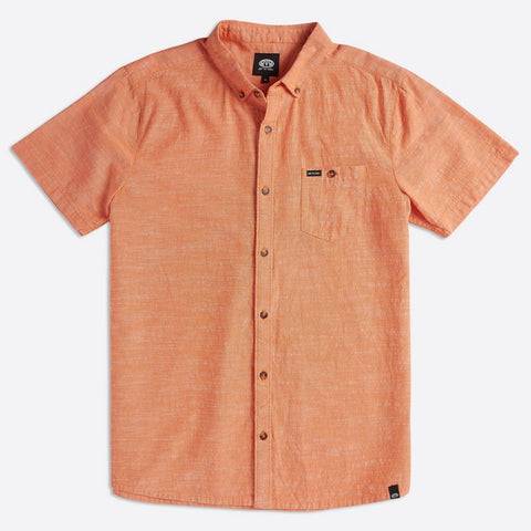 Animal Mens Fleck Shirt Apricot