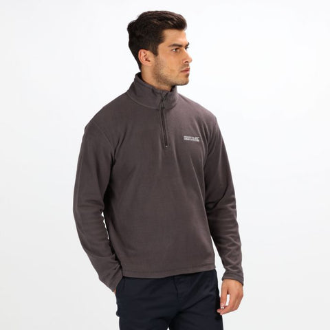 Regatta Men's Thompson Half Zip Lightweight Fleece Iron