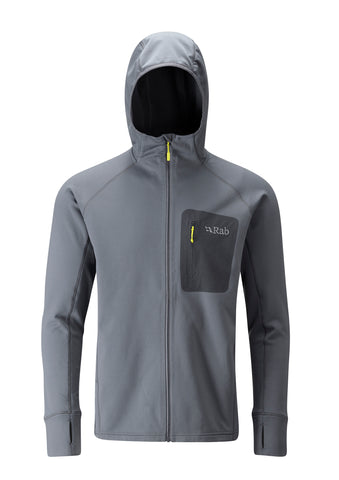 Rab Men's Superflux Hoody Steel
