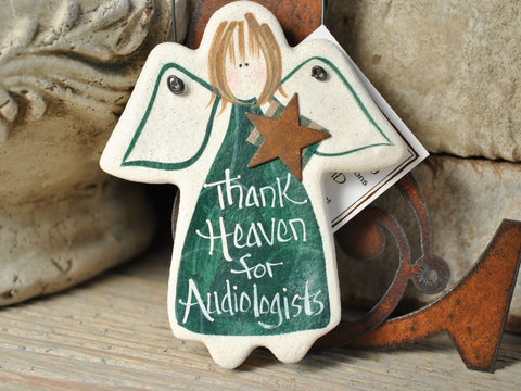 Audiologist Gift Ornament