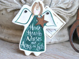 Home health care nurse gift thank you health care home nurse salt dough