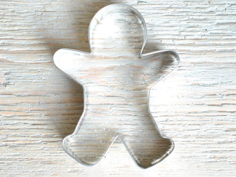 Large Gingerbread Cookie Cutter Baking / 5 1/4 inch Craft Supplies