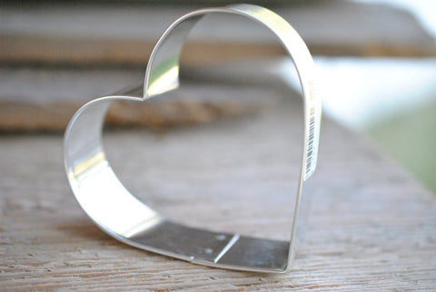 Heart Cookie Cutter Baking / Craft Supplies 3 1/4 inches tall