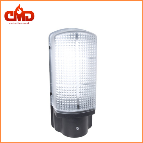 6w LED Bulkhead with Photocell Sensor - Black Body - CMD Online